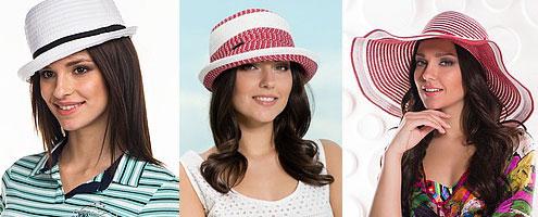 женские летние головные уборы