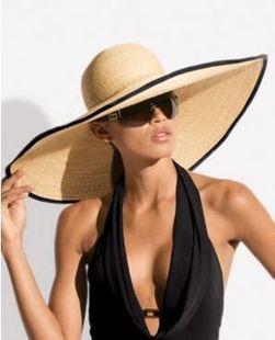 Модные женские шляпы сезона весна-лето  фото