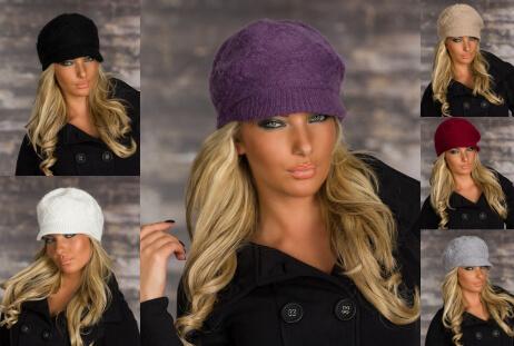 шапки с козырьком