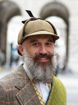 Мужские кепки в английском стиле фото