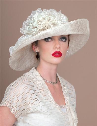 <Белая шляпа женская фото