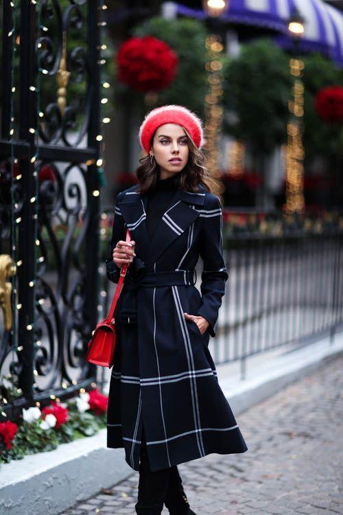 Как подобрать берет под женское пальто фото