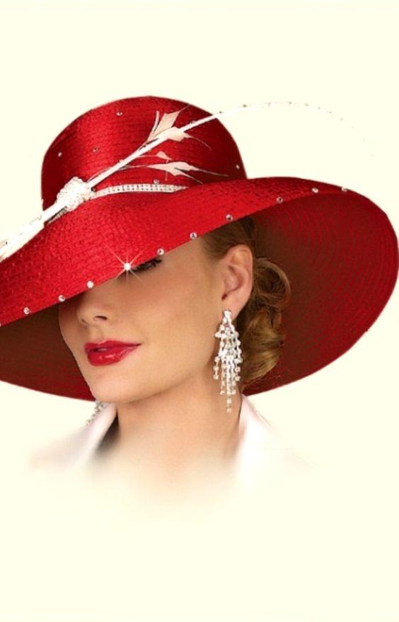 Шляпа с украшением фото