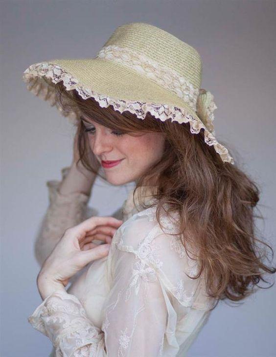 Украшение шляпы фото