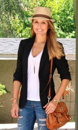 С чем носить летом женскую шляпу трилби фото