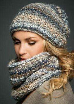 Как выбрать комплект шапка и шарф фото