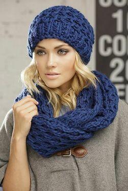 Женские комплекты шапка и шарф  фото