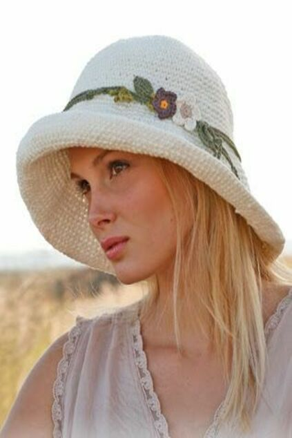 Летние головные уборы для женщин фото
