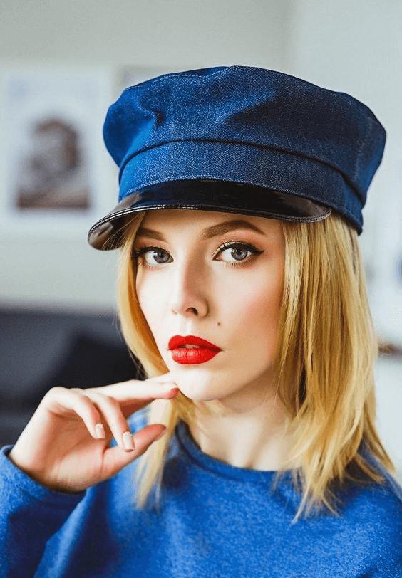 Женская кепка картуз и ее история фото