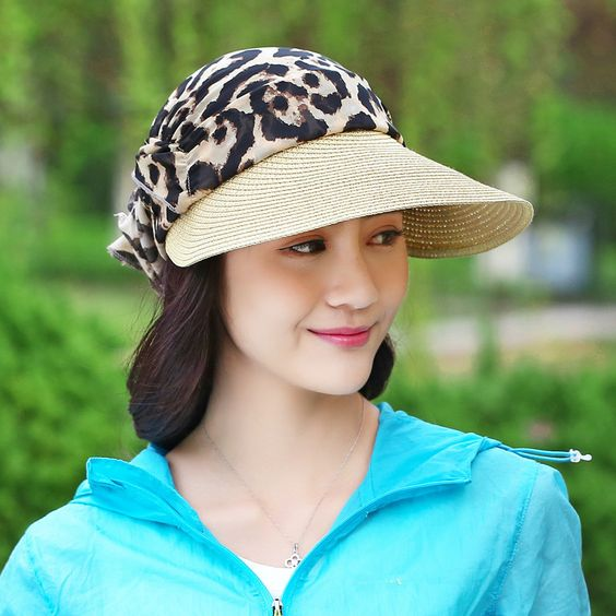 Женски кепки летний образ фото