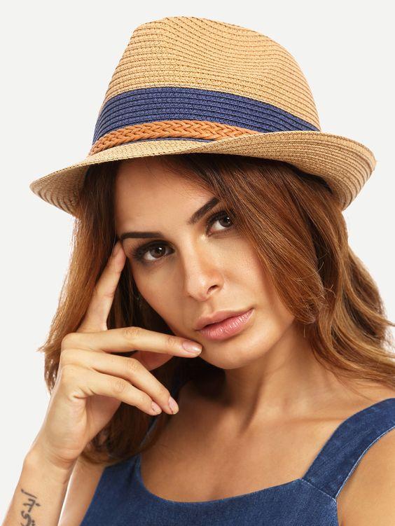 Шляпы женские из соломы фото