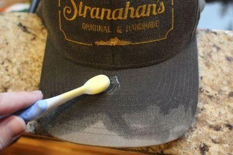 Как правильно чистить мужские кепки фото