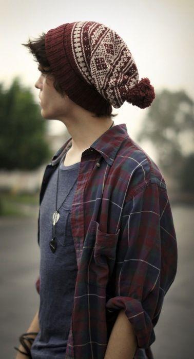 Как правильно носить шапку бини фото