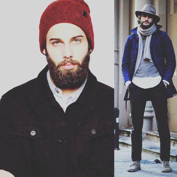 Как носить зимние шапки мужские фото