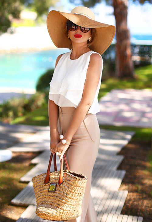 Чистка летней шляпы фото
