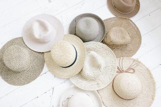 Как почистить соломенную шляпу