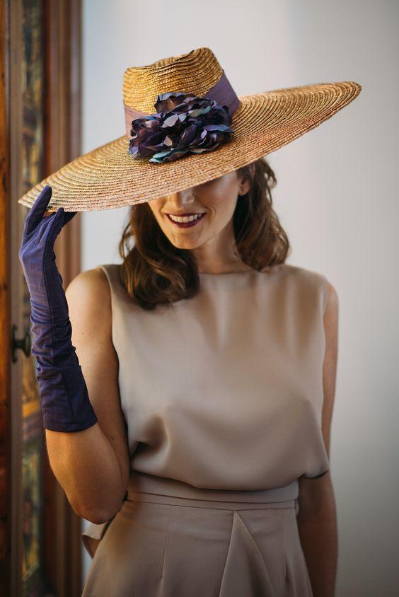 Как одеть шляпу правильно фото