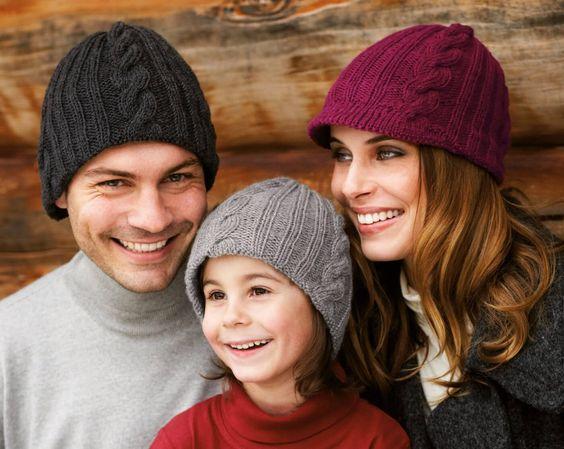 Уход за вязаными шапками фото