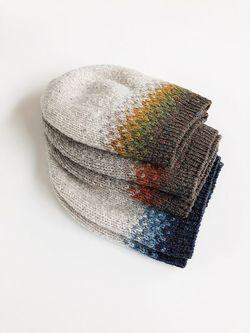 Уход за вязаной шапкой фото