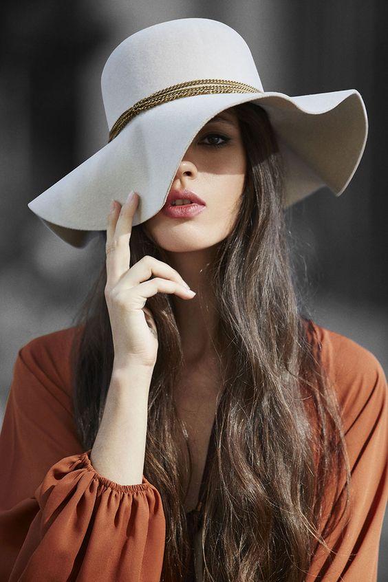 Как уменьшить женскую шляпу фото