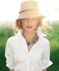 Какой должна быть летняя шляпа фото