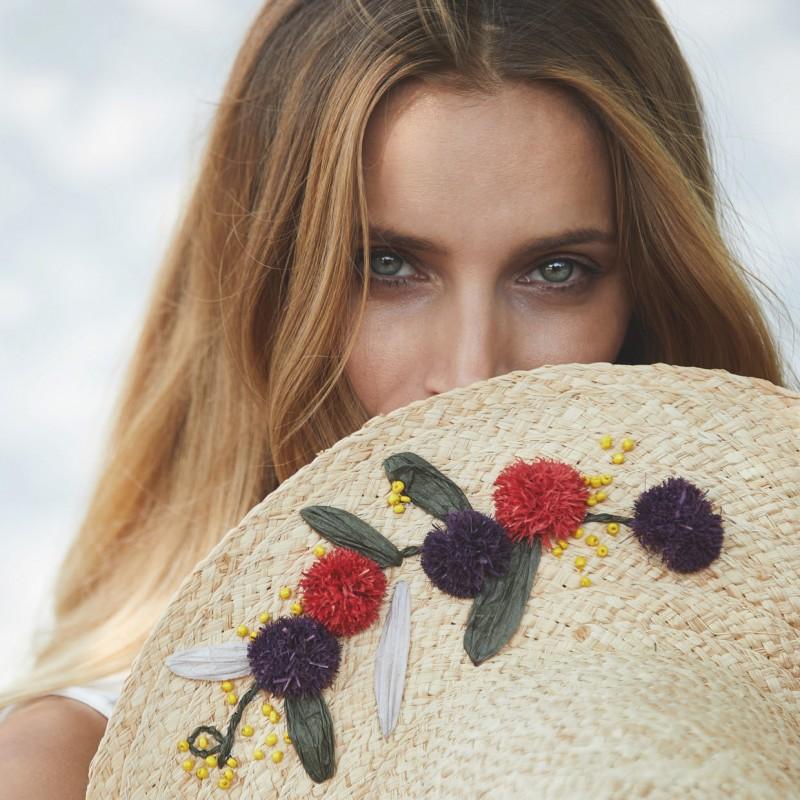 Модный летний женский головной убор фото