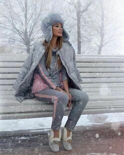Женские зимние шапки фото