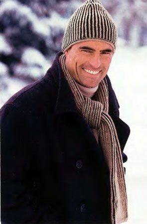 Как выбрать вязаную шапку мужчине фото