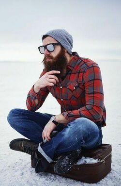 Какие мужские шапки будут модные осенью изимой  фото