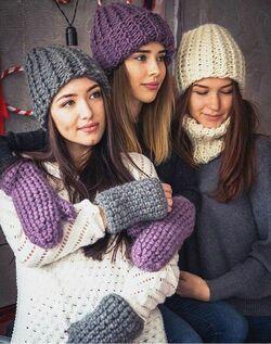 Какого цвета выбрать шапку фото