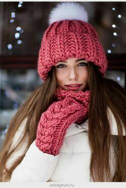 Какие цвета шапок актуальны этой зимой зимой фото