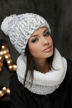 Как выбрать женскую шапку по цвету фото