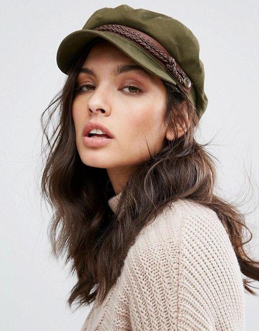 Женские кепки милитари фото