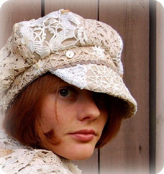 Женские кепки в стиле милитари фото