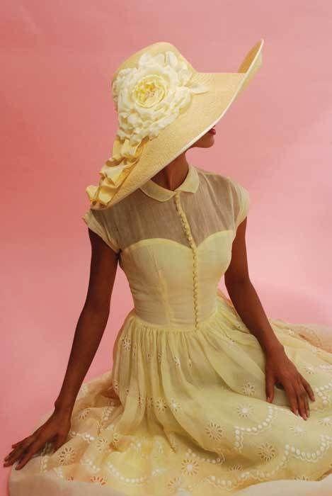 Модные цвета женских летних шляп фото