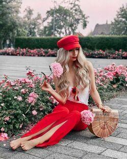 Летние женские головные уборы с чем носить фото
