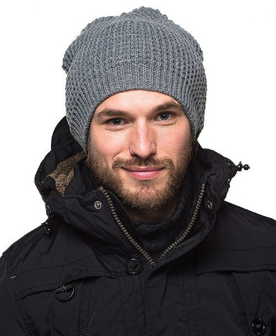Модные шапки для мужчин без отворота фото