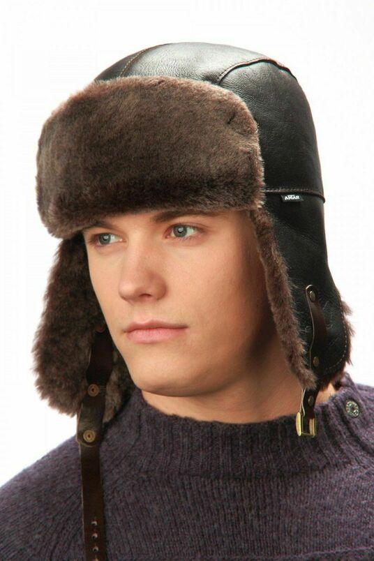Зимние мужские панамы, шлемы и ушанки фото