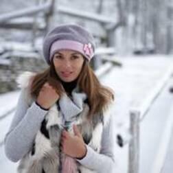 Модели женских зимних головных уборов фото