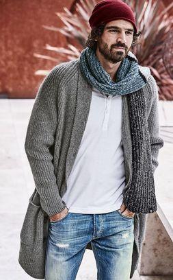 Какие головные уборы для мужчин популярны осенью фото