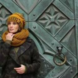 Женские вязаные шапки с чем носить осенью фото