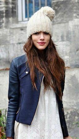 Модели шапок к кожаной куртке фото