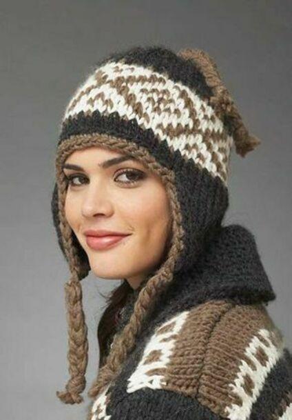 Женские головные уборы подобрать по форме лица  фото
