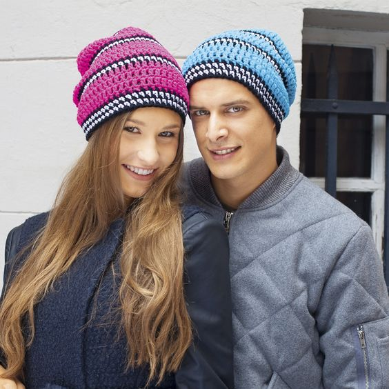 Зимние шапки унисекс фото