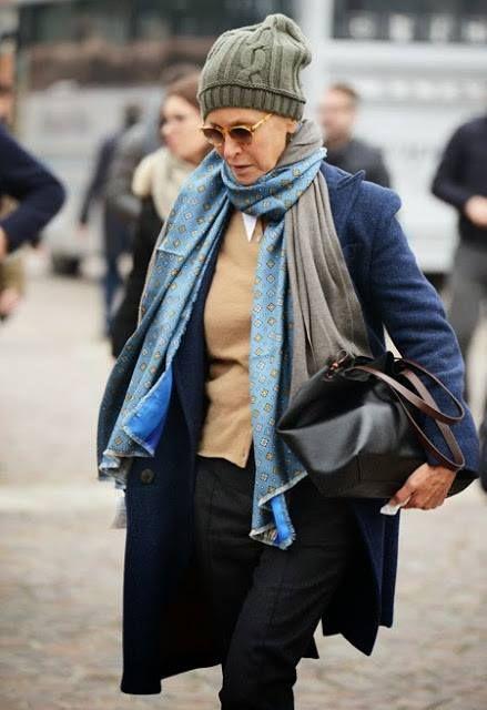 Женские шапки для 50 лет фото