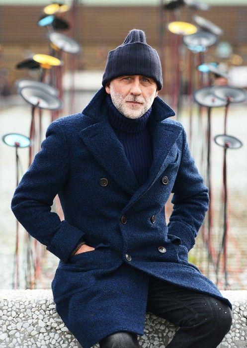 Какую шапку выбрать под мужское пальто фото