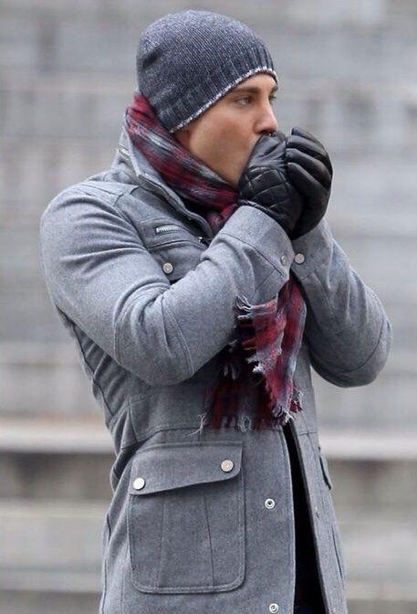 Как подобрать шапку мужчине под пальто фото