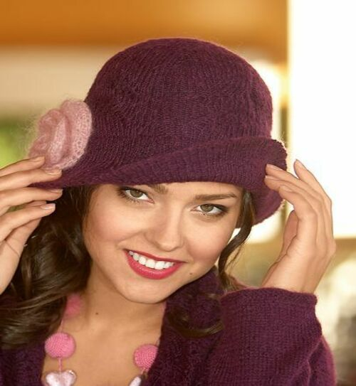 Как заменить вязаную шапку женскую фото