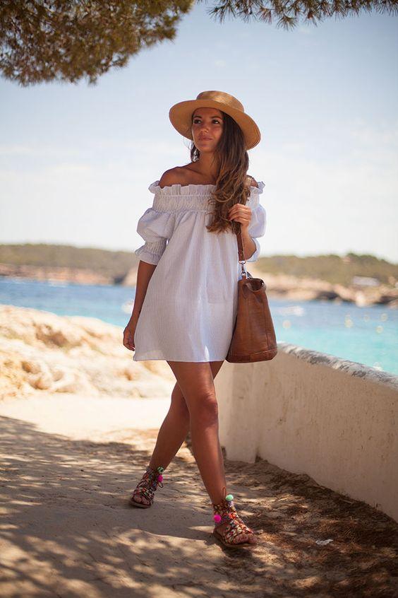 Женская шляпка и сумочка фото