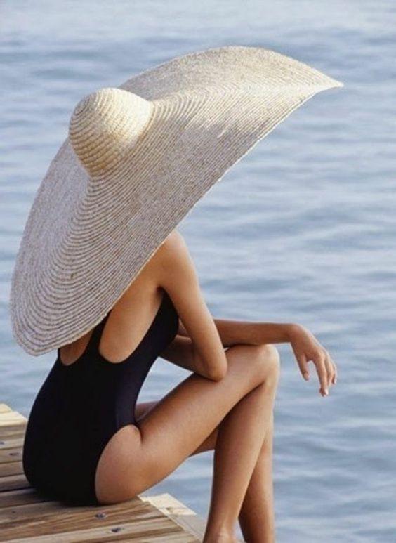 Как выбрать шляпу для пляжа фото